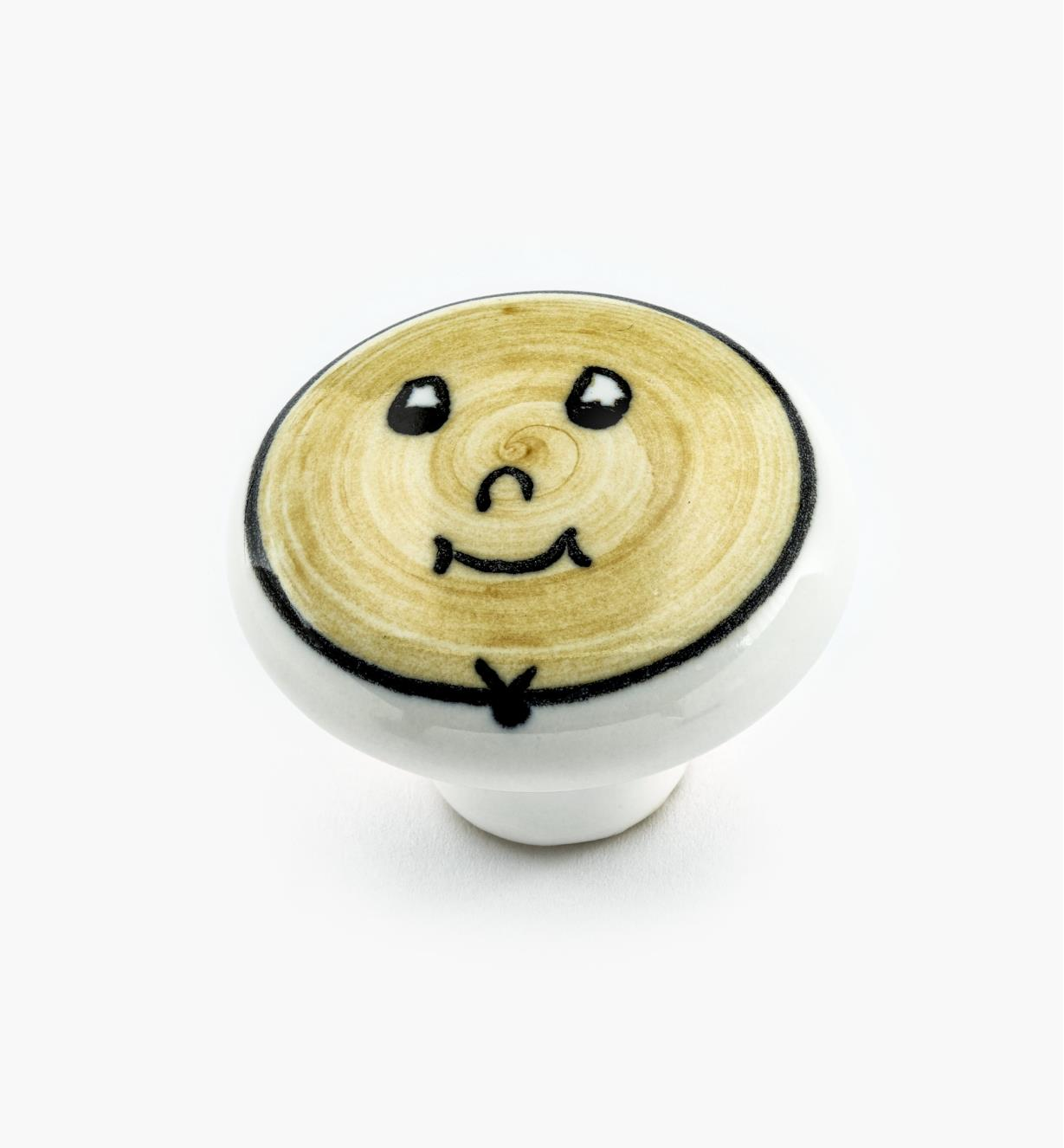 00W5304 - Yellow Face Knob