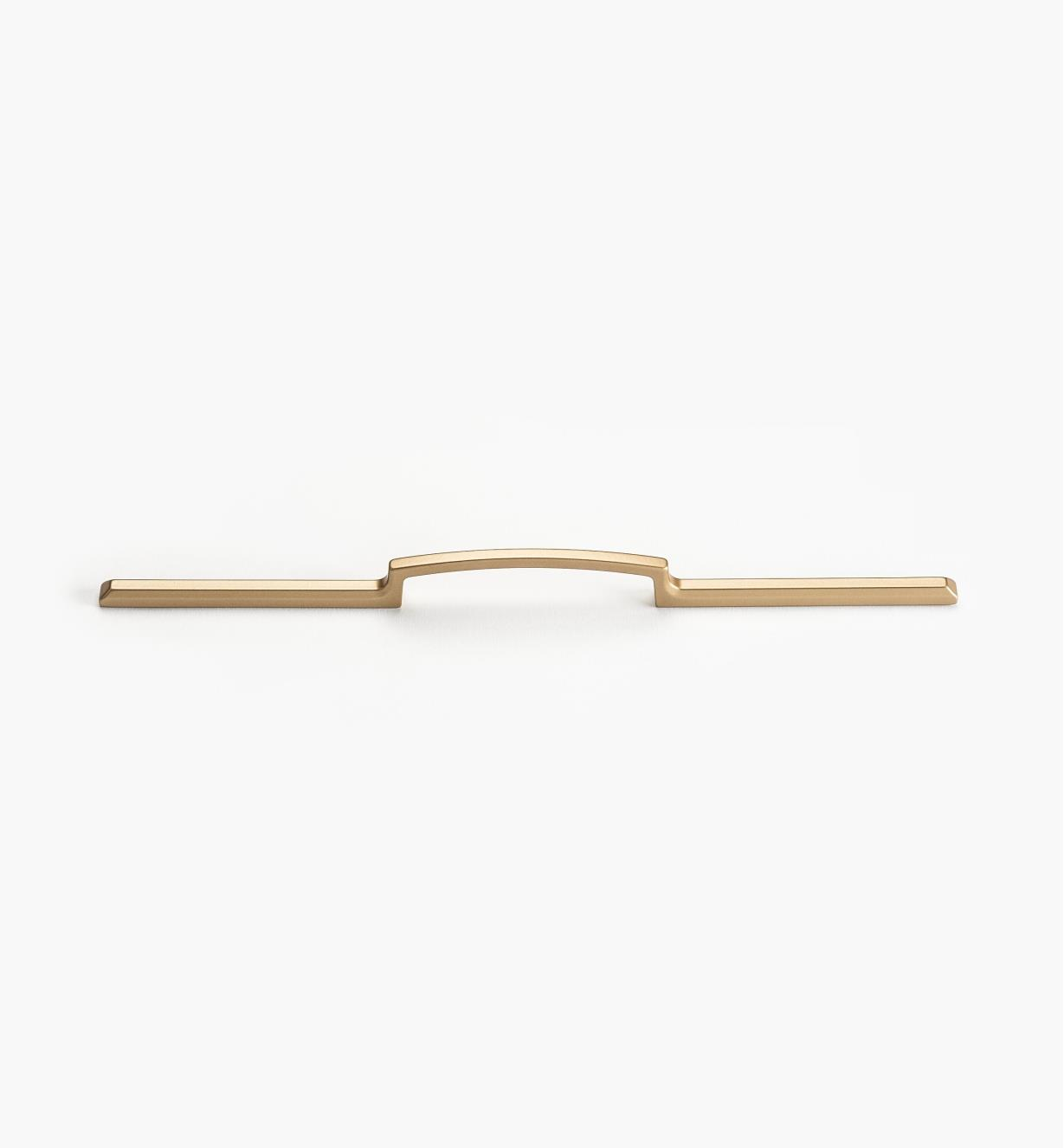 00W5546 - 128mm/320mm (340mm) Satin-Gold Eclett Handle