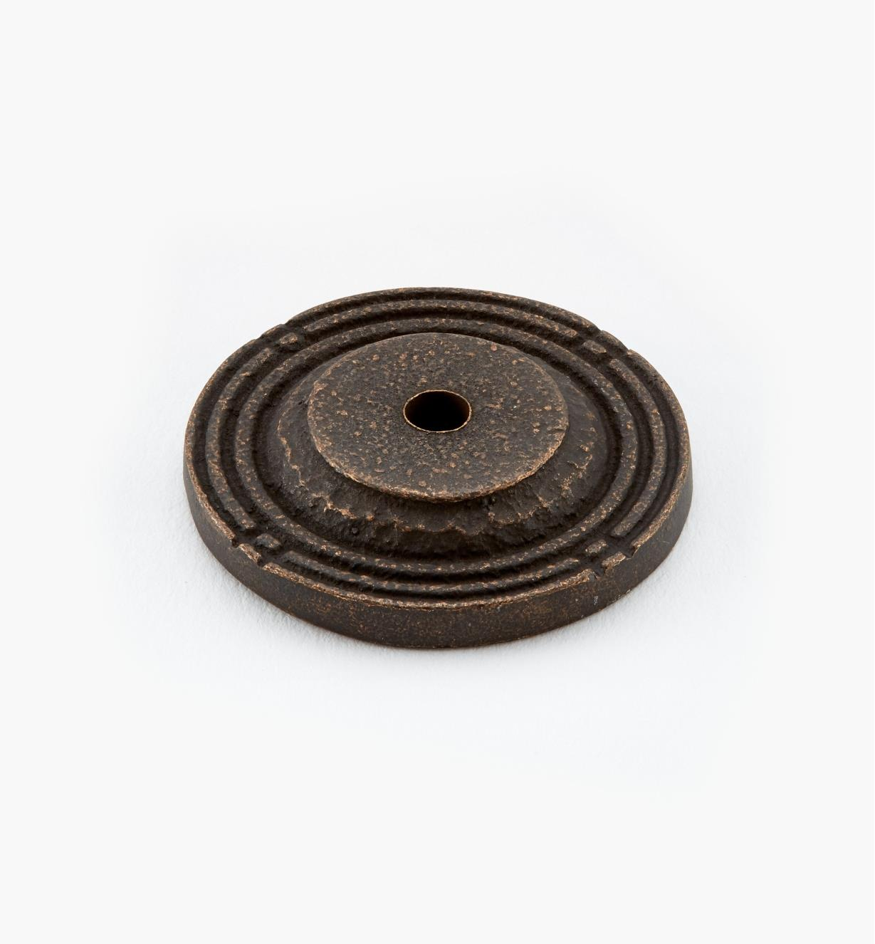 "01H0220 - 1 1/2"" Antique Bronze Backplate"