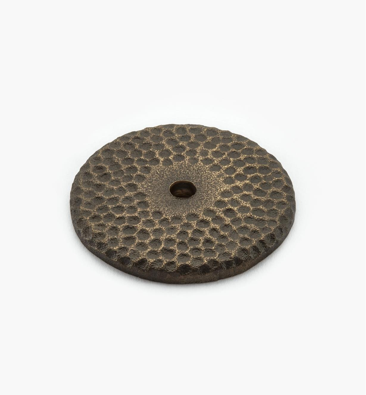 "02G0235 - 1 5/8"" Antique Bronze Backplate"