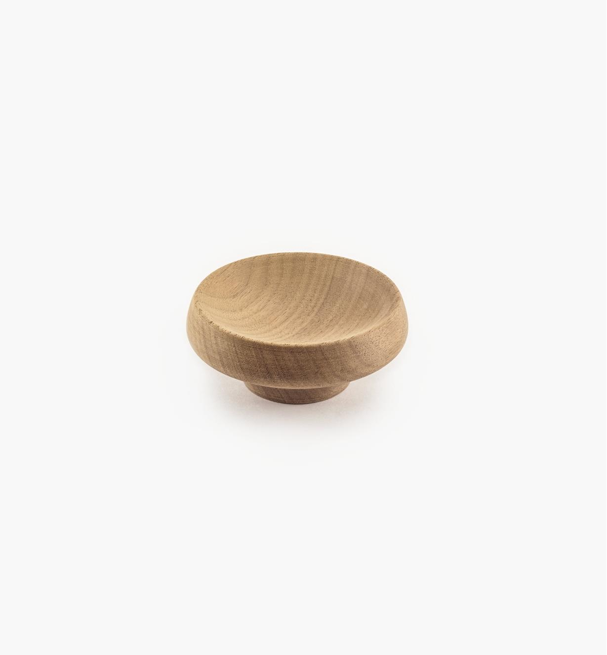 02G2028 - 65mm x 28mm Cork Danish Walnut Knob