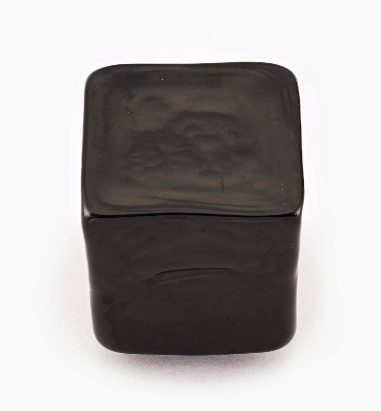 00A7702 - Murano Venezia Knob, Black