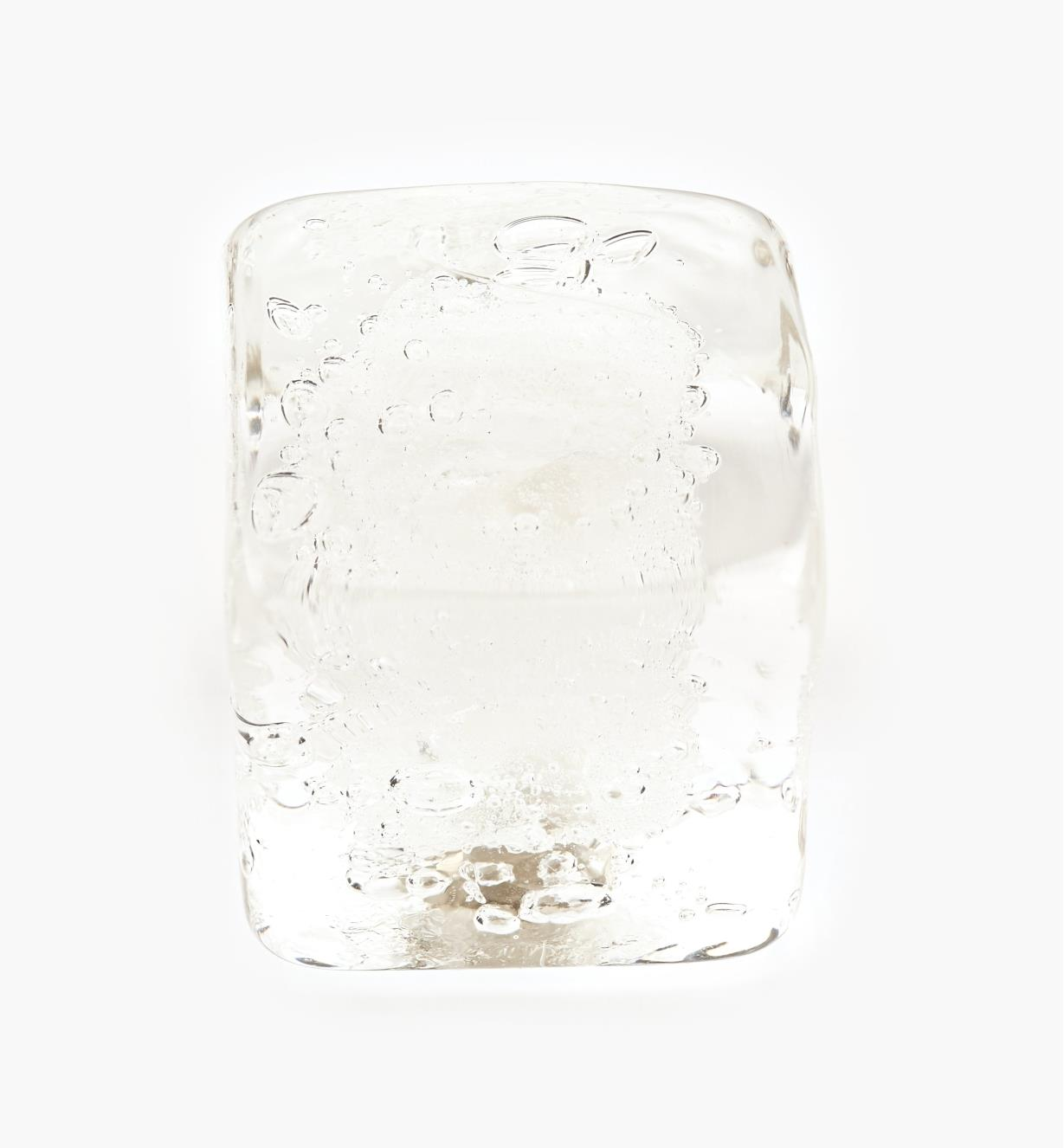 00A7704 - Bouton en verre de Murano Venezia, cristal, 1 po
