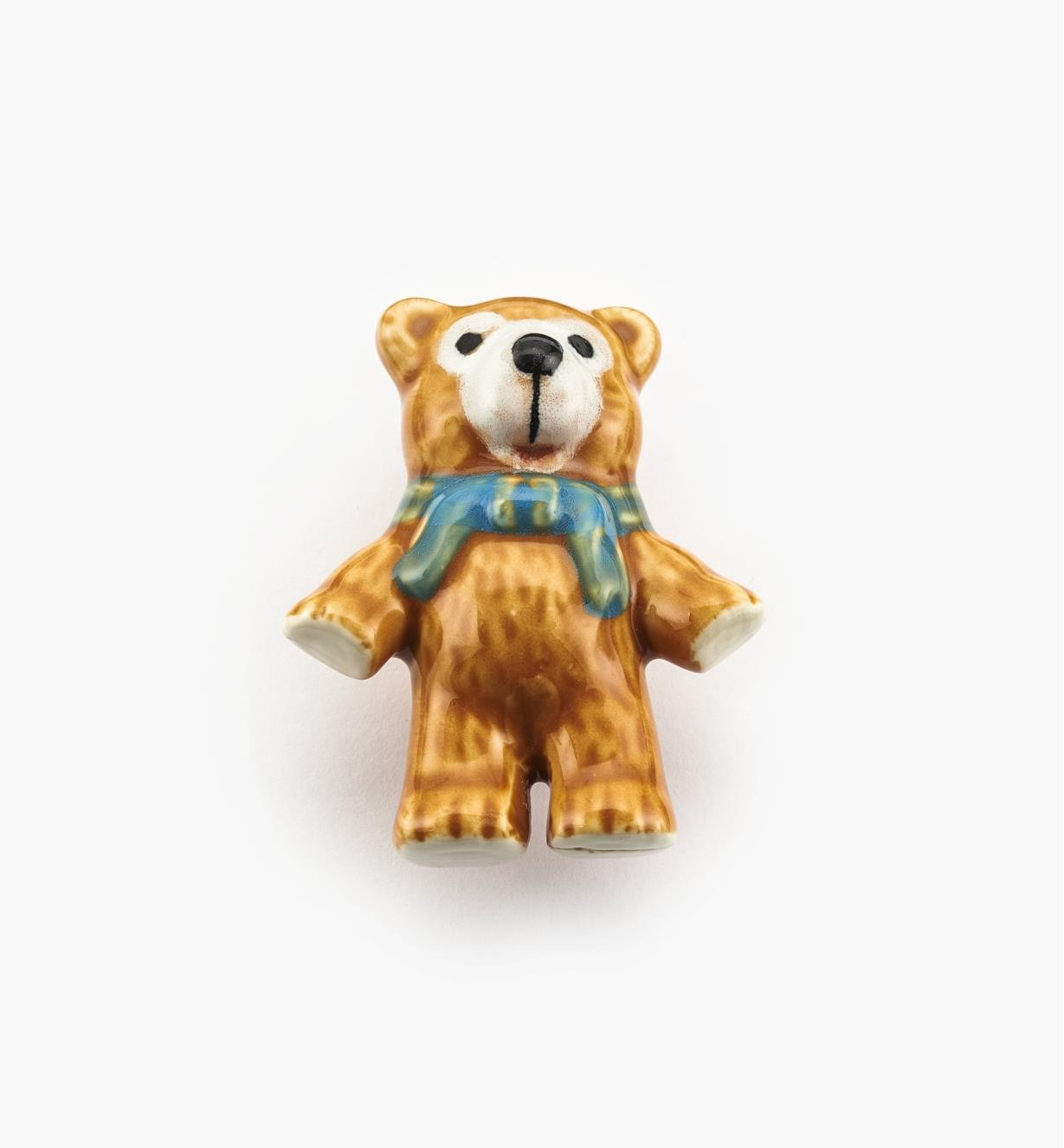 "00W5325 - 1 3/4"" x 2 1/8"" Teddy Bear Ceramic Knob, each"