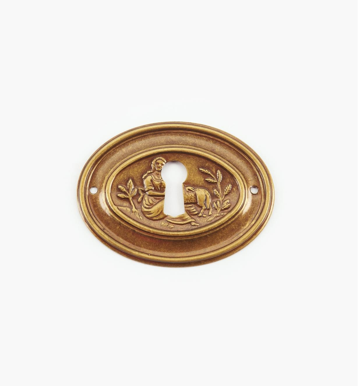01A4203 - Small Lamb Escutcheon