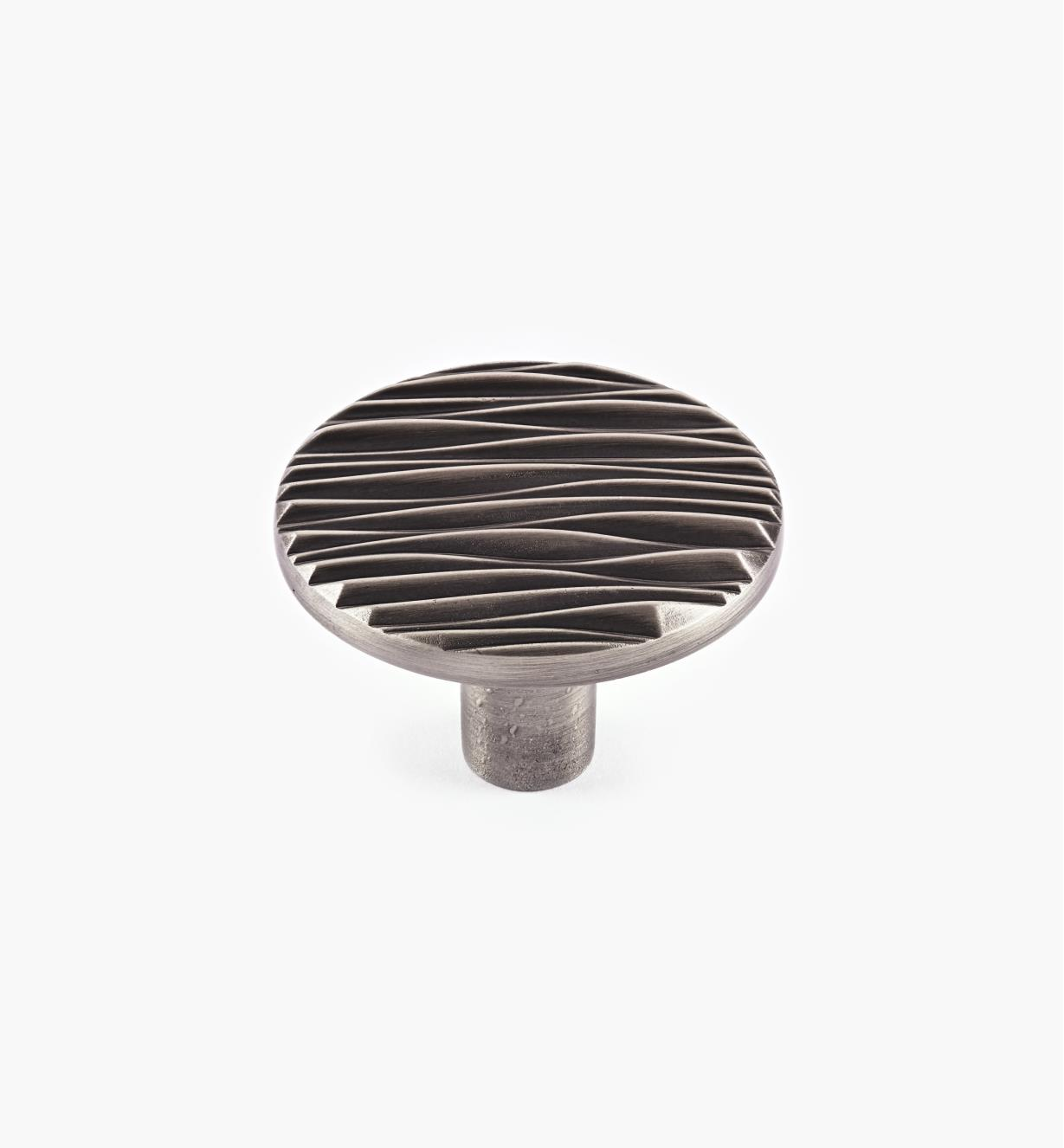 "01W0730 - Rio Suite - 1 3/4"" Brushed Antique Pewter Knob"