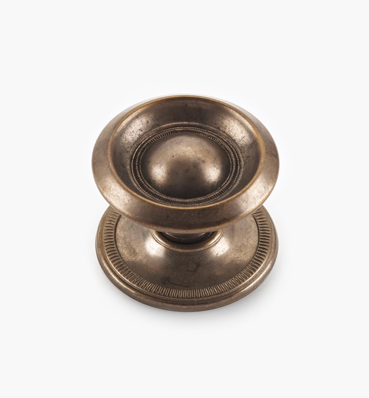 "00A2614 - 1 3/4"" x 1 1/4"" Ring Sheraton Knob"