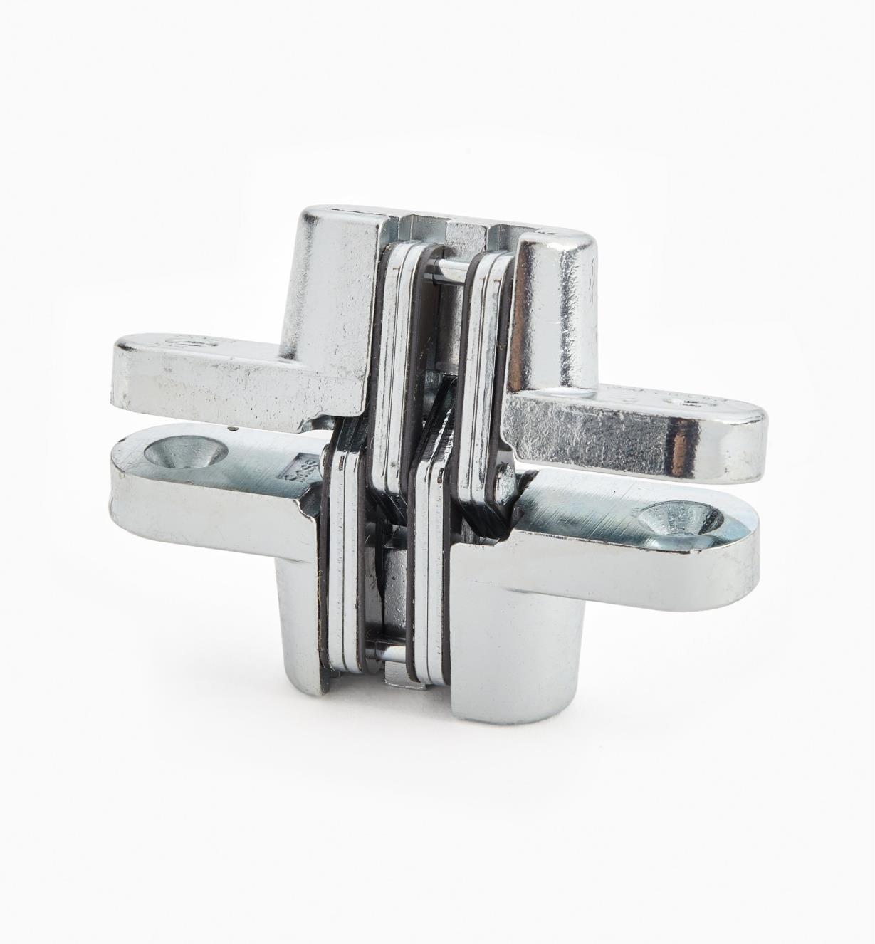 "00H0216 - 2 3/4"" Satin Chrome SOSS  Invisible Hinges, each"