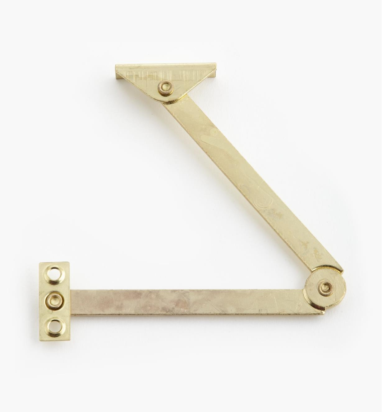 00T0711 - Right-Hand Brass Plate Standard Stay