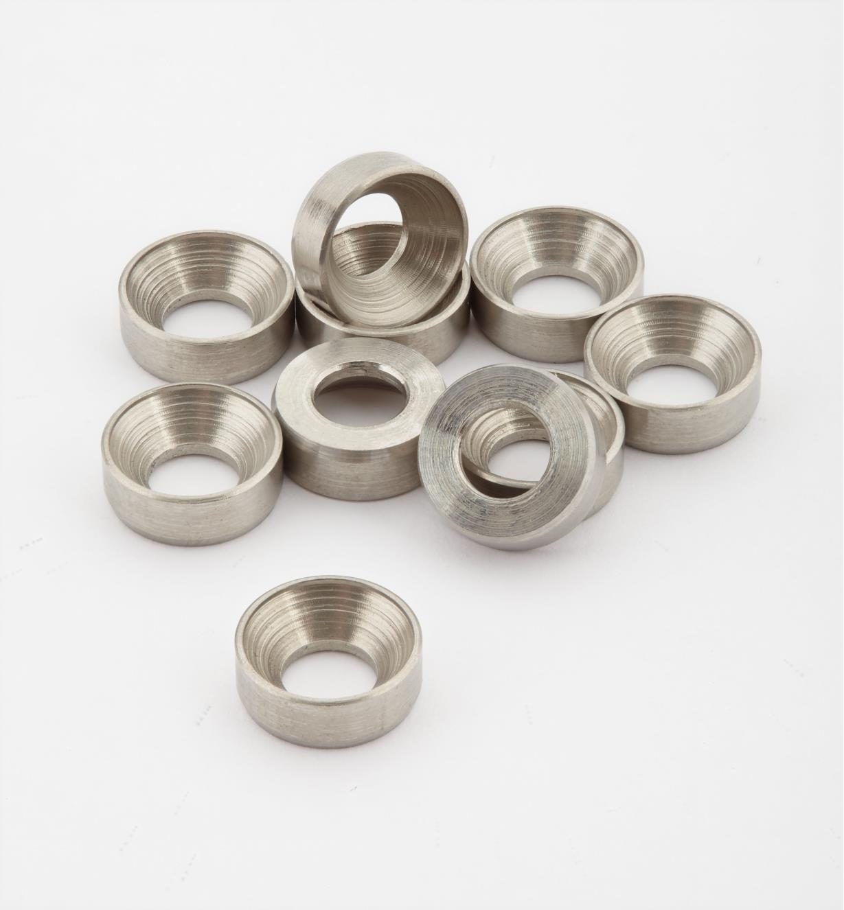 01K7053 - #10 Stainless Steel Washers, pkg. of 10