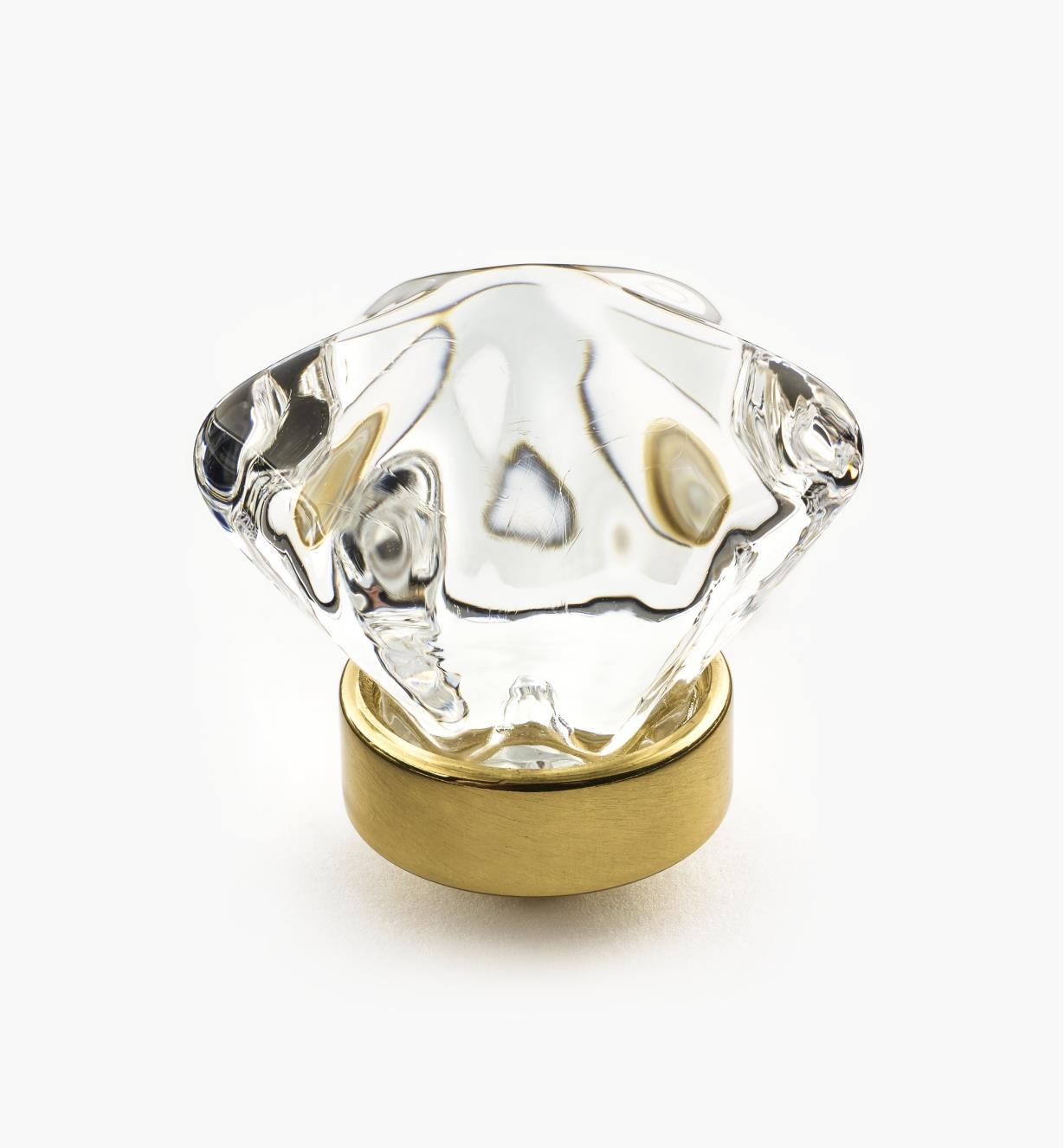 01W2614 - Brass Hex. Knob