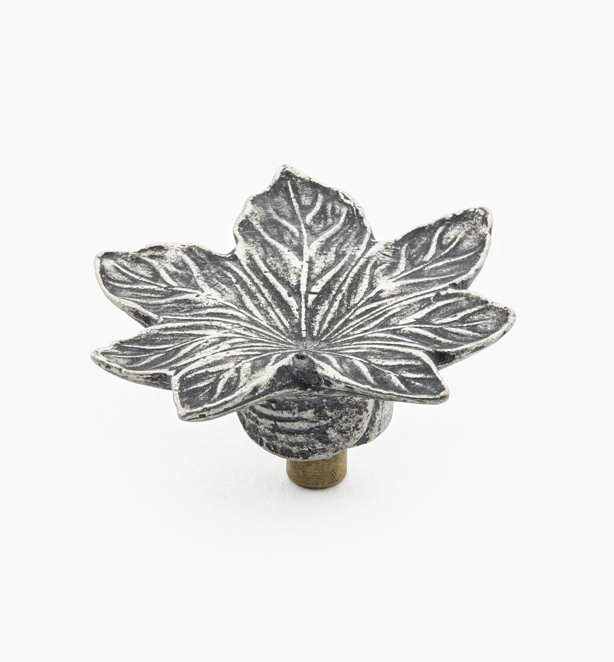 Cast Pewter Maple Leaf Knobs