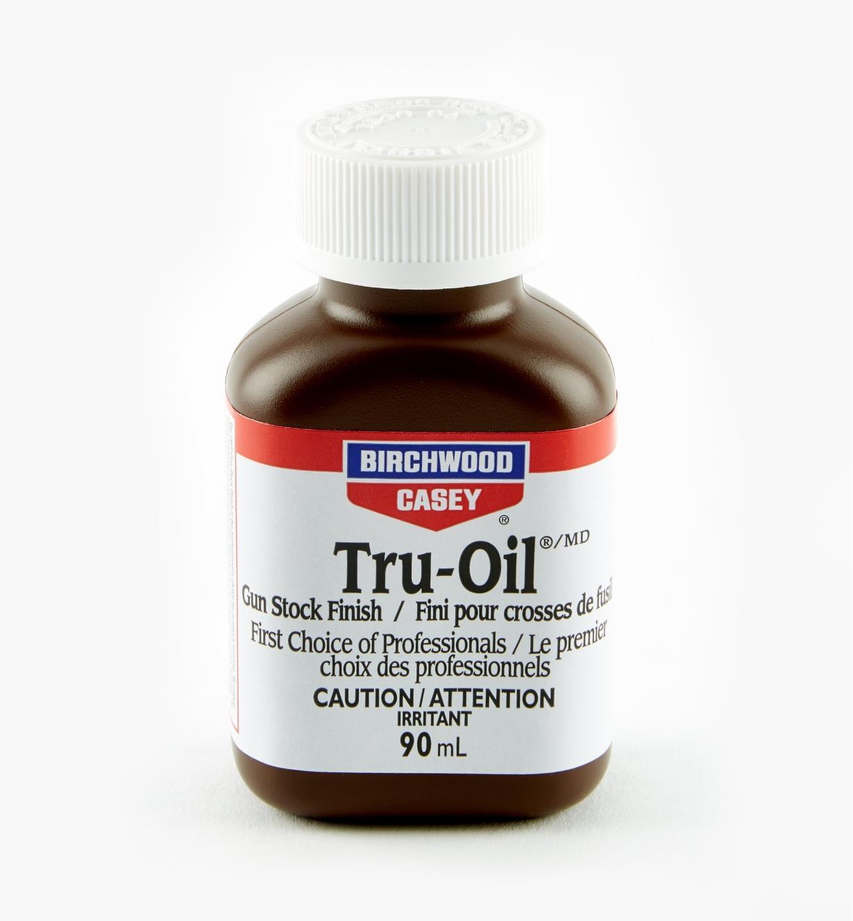 56Z2903 - Huile de finition Tru-Oil, 3 oz liq. (90 ml)