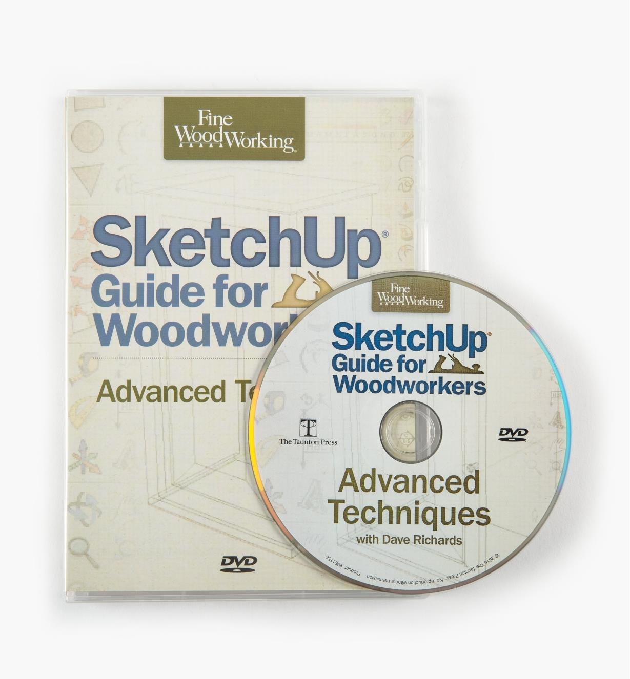 73L1037 - SketchUp Advanced Techniques DVD