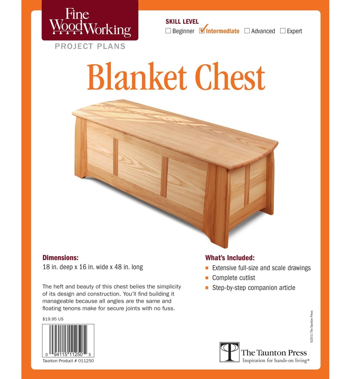 73L2507 - Blanket Chest Plan
