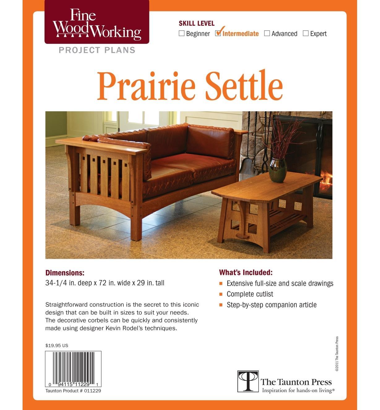 73L2514 - Prairie Settle Plan