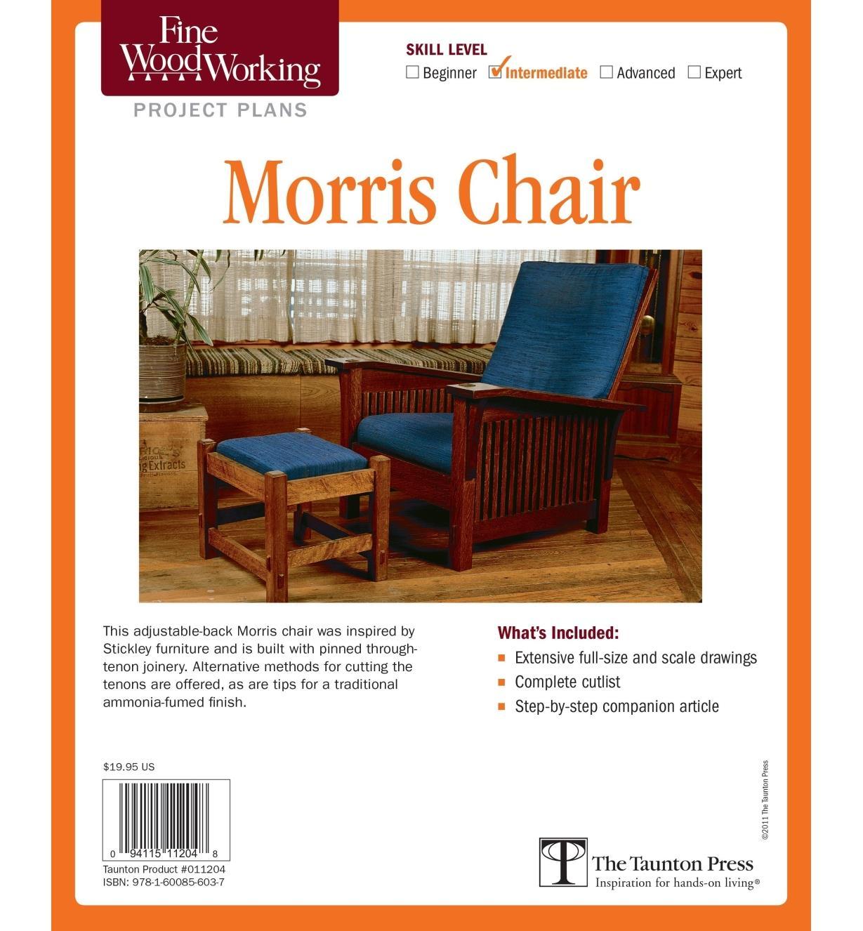 73L2519 - Morris Chair Plan