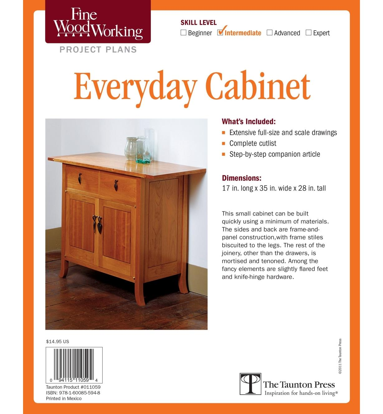 73L2530 - Everyday Cabinet Plan