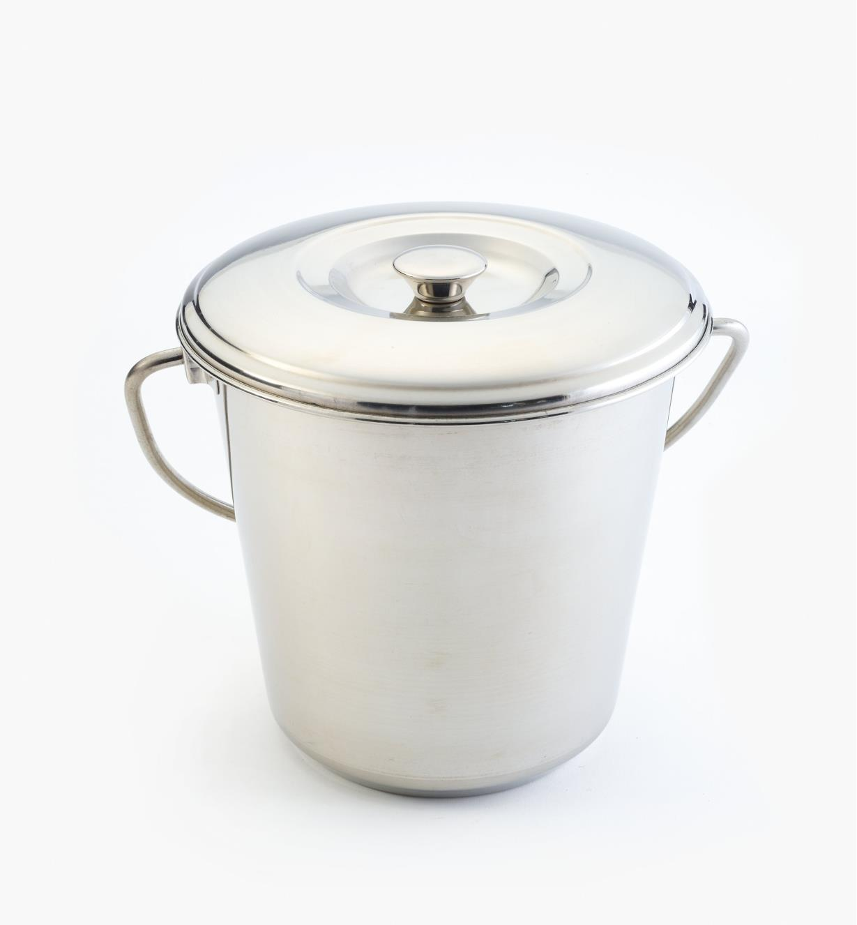 XG155 - Stainless Steel Compost Pail, 4 litres