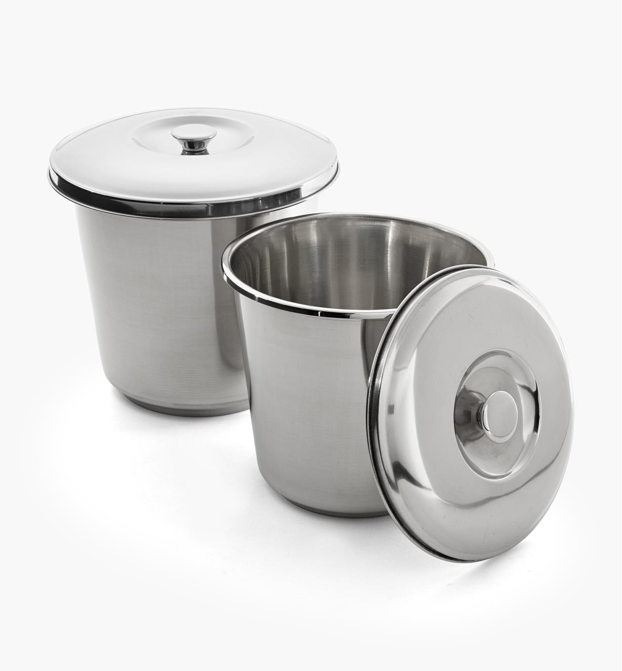 XG167 - Set of Stainless Steel Buckets