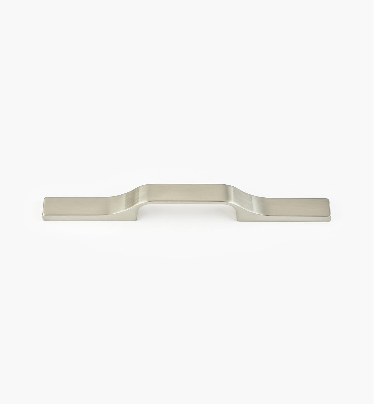 00W5531 - Large Hillside Satin Nickel Handle, 96mm to 224mm centers