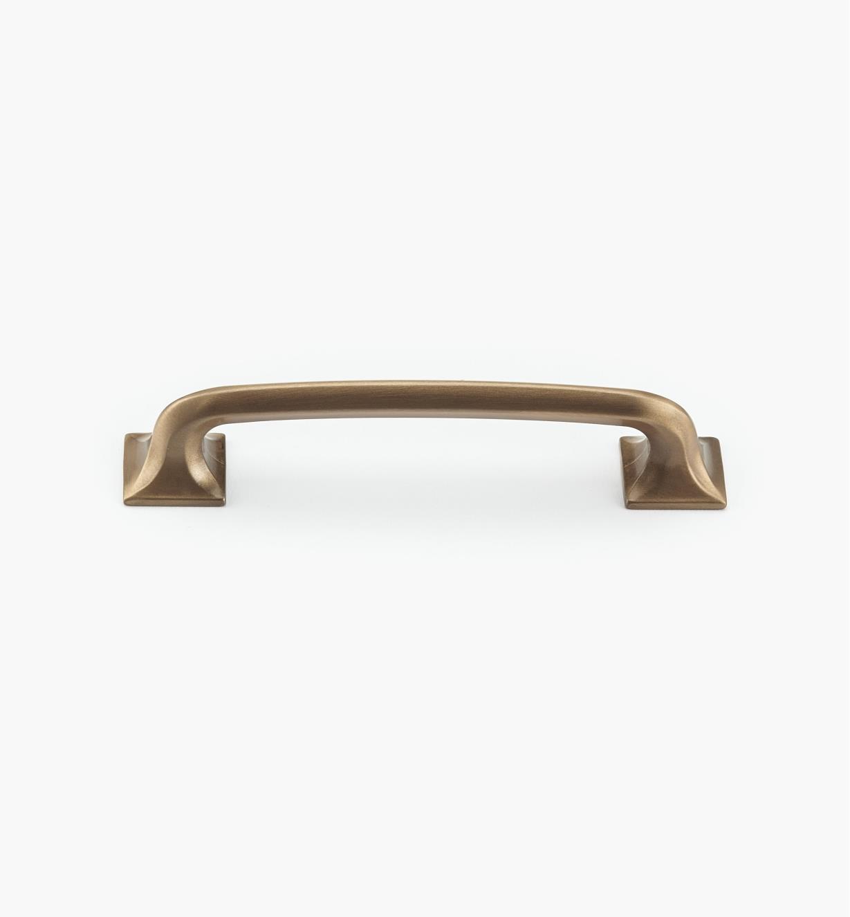 02G0414 - Poignée à pieds carrés de 5po, série Northport, bronze bruni