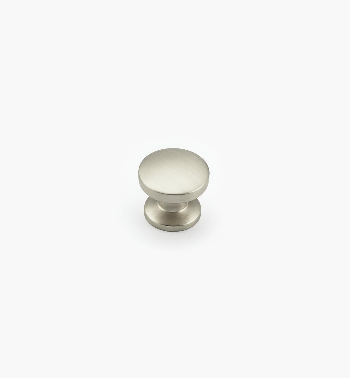 "02G0421 - Northport 1 3/8"" Satin Nickel Round Knob"