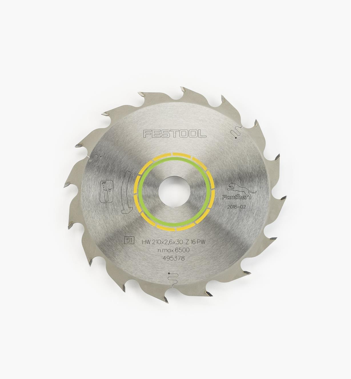 ZA495378 - Panther TS 75 Saw Blade
