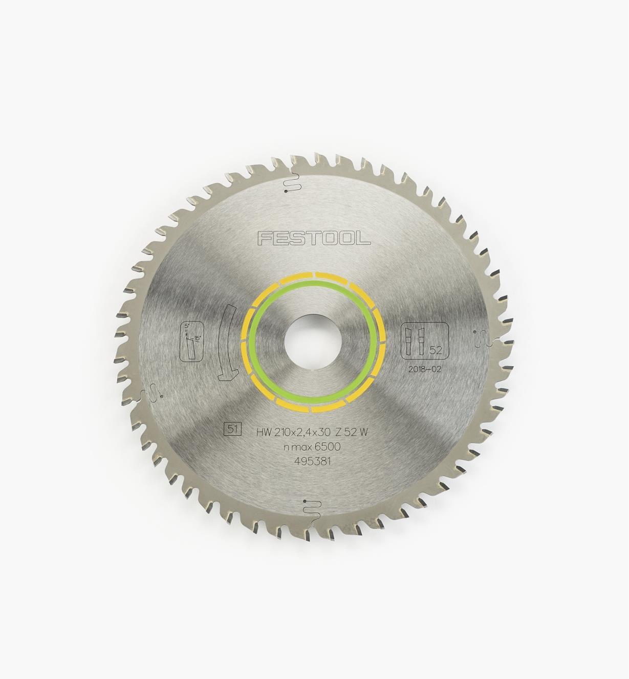 ZA495381 - TS 75 Lame scie à dents fines