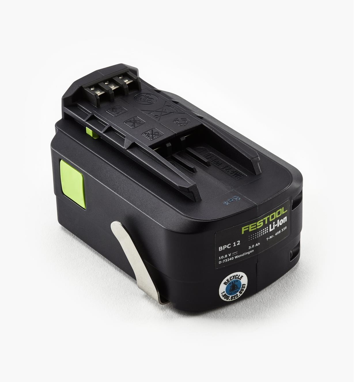 ZA498339 - Batterie de remplacement pour perceuse-visseuse sans fil T 12