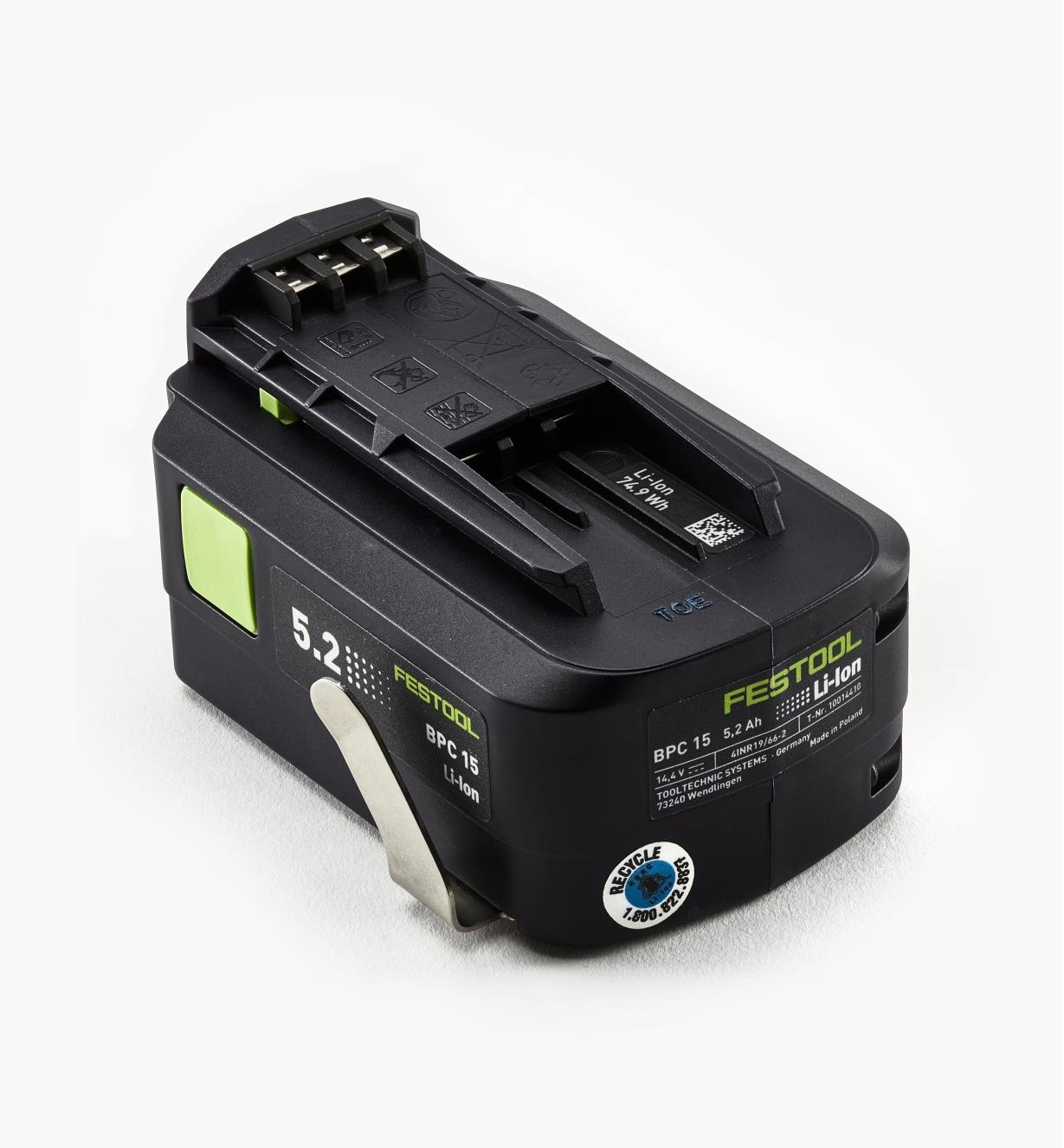 ZA500530 - Batterie de remplacement 15 V 5,2Ah