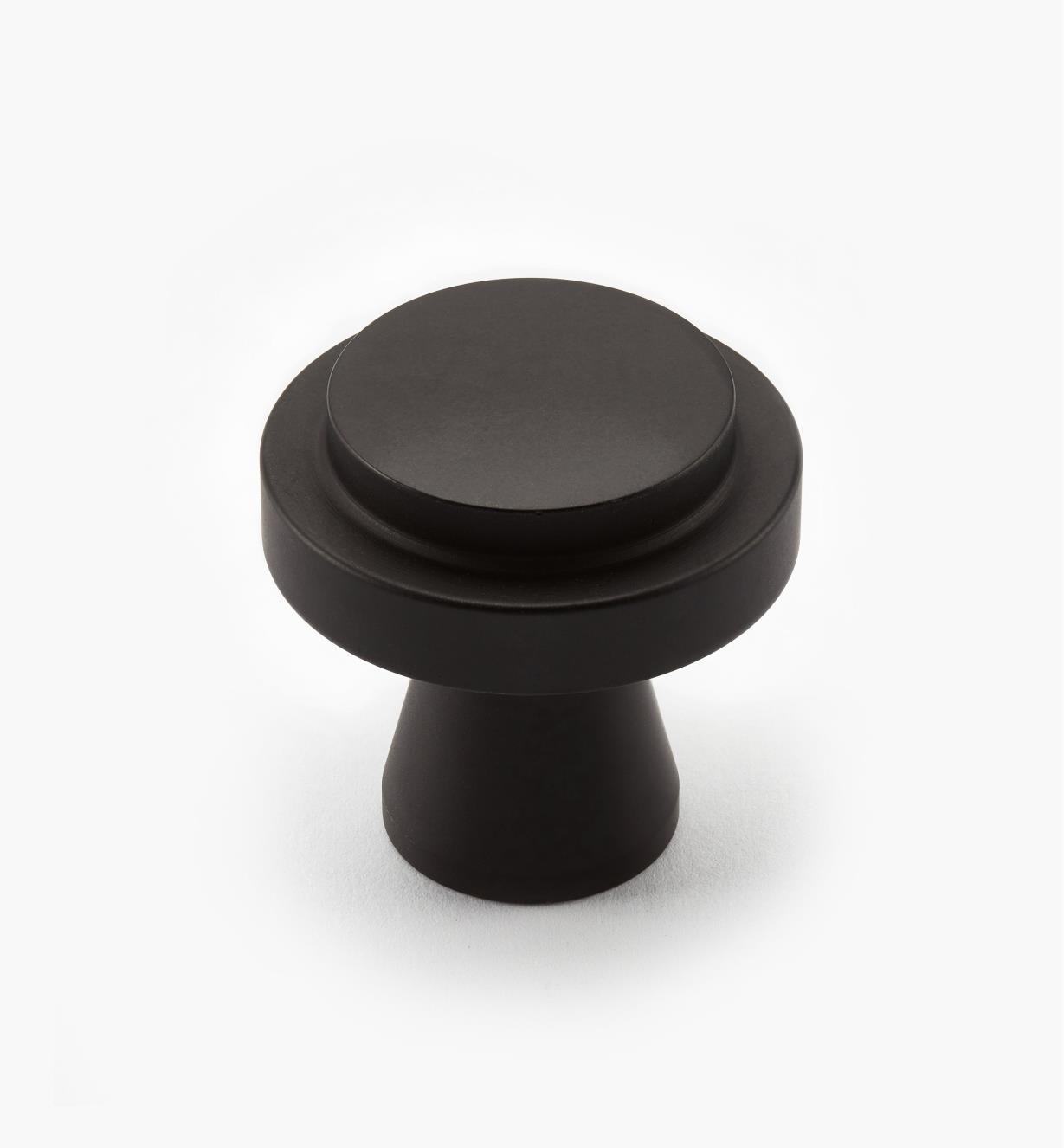 00W0714 - Concerto Hardware - 35mm x 35mm Oil-Rubbed Bronze Knob