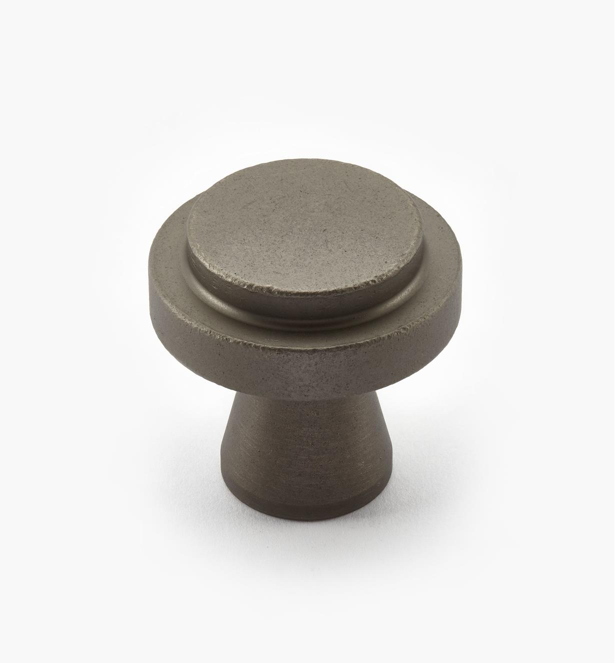 00W0724 - Concerto Hardware - 35mm x 35mm Pewter Knob
