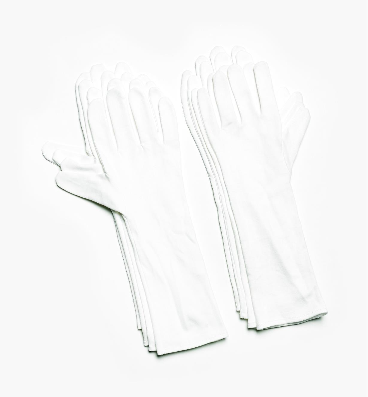 Extra-Long Cotton Glove Liners