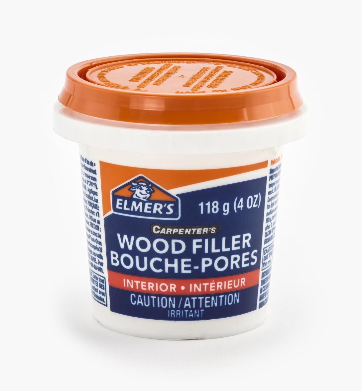 80K8521  - Wood Filler, 118ml (4 oz)