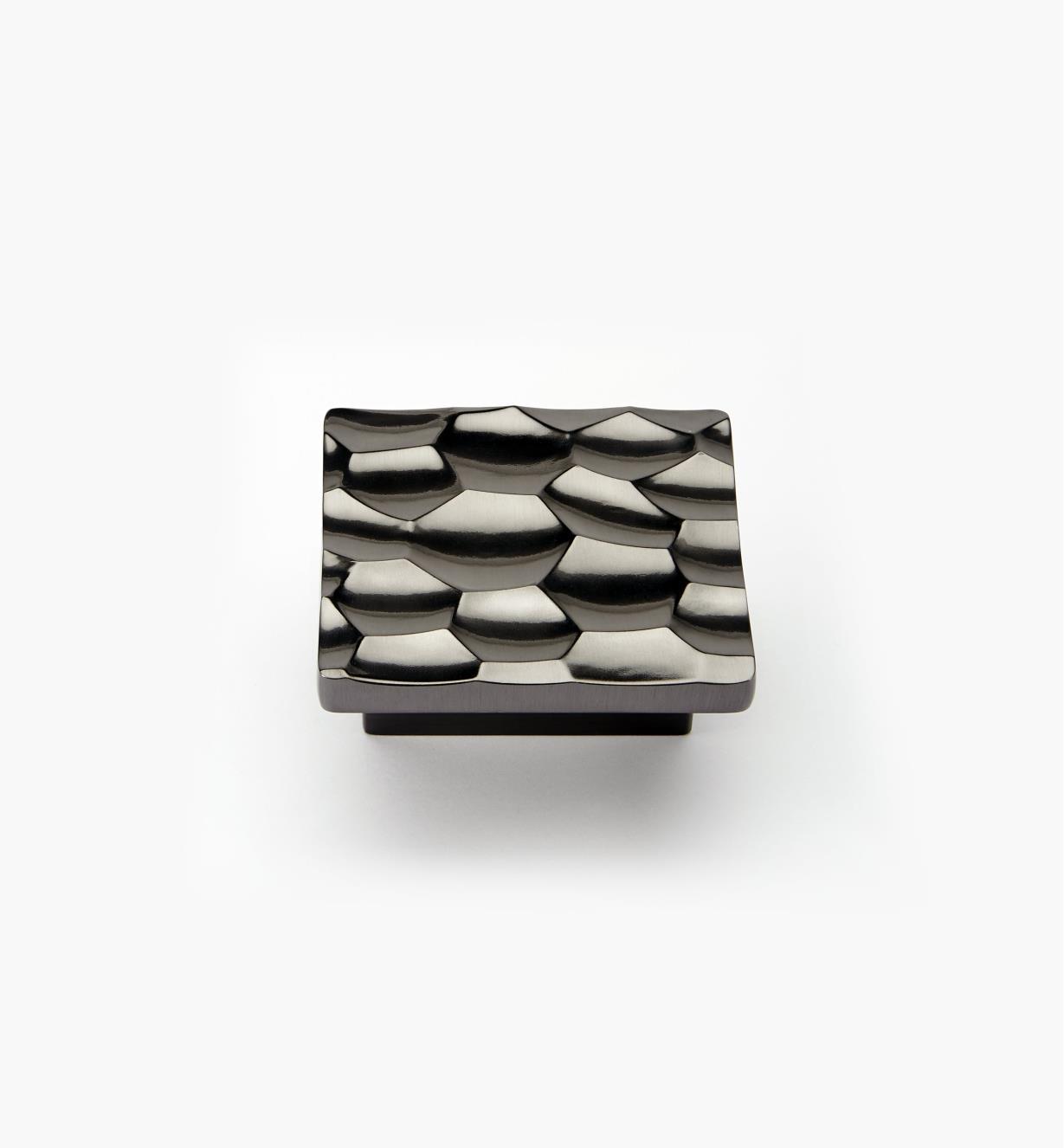 01G1521 - Bouton Sonora, fini nickel noir, 32 mm