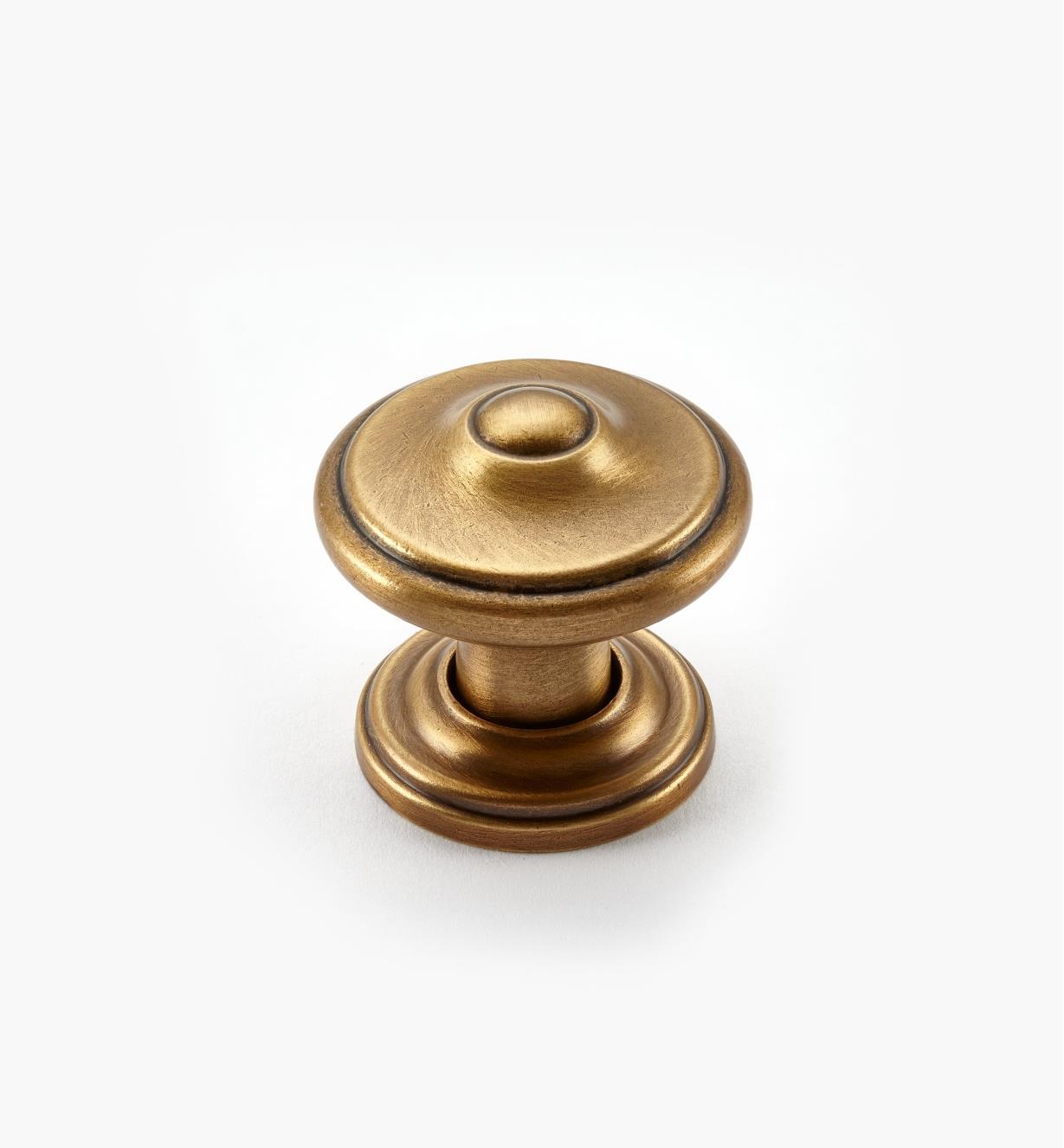 02A1691 - Bouton lyonnais Revitalize, 11/4po, bronze doré, l'unité