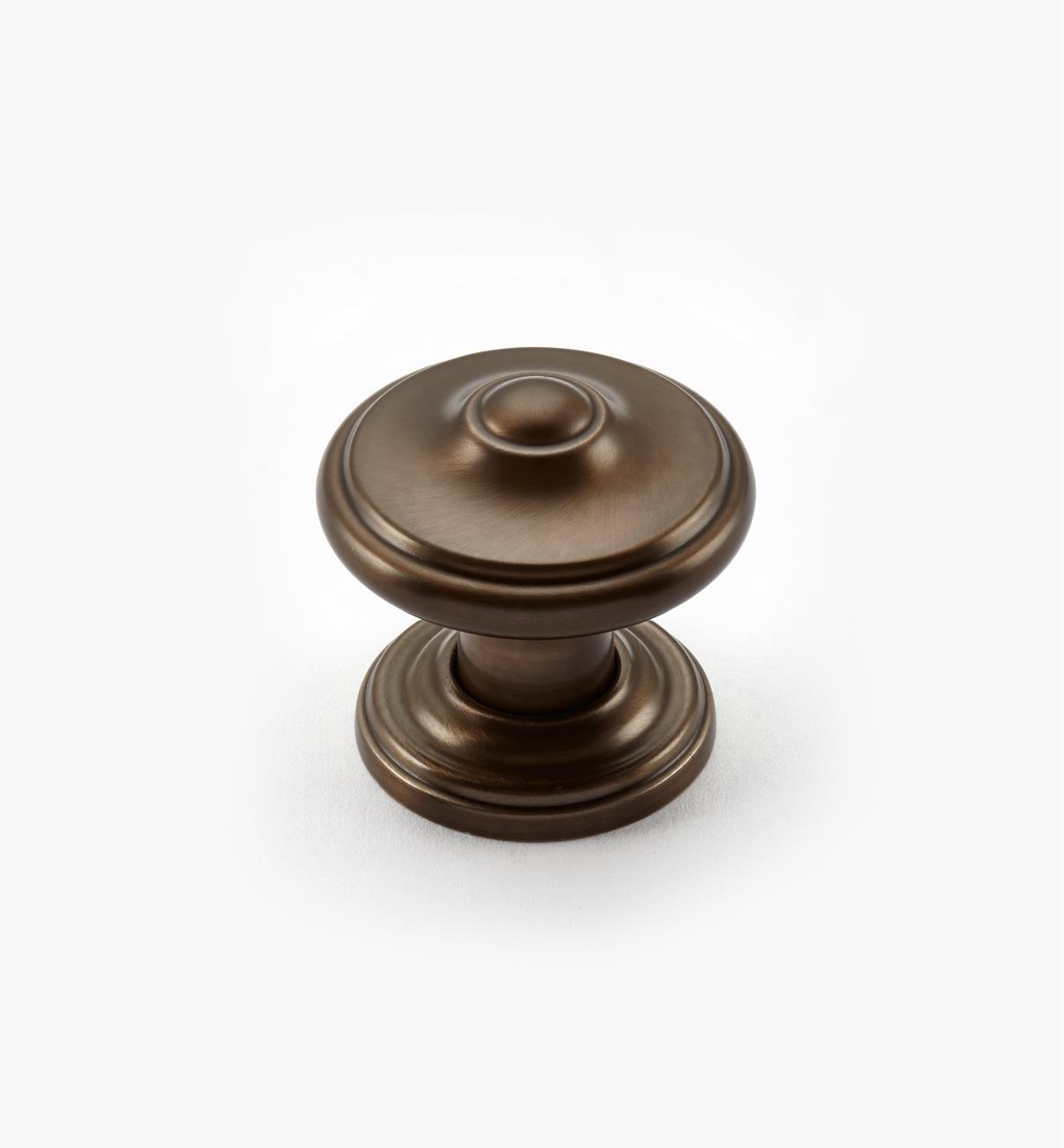 02A2221 - Bouton lyonnais Revitalize, 11/4po, bronze cuivré, l'unité