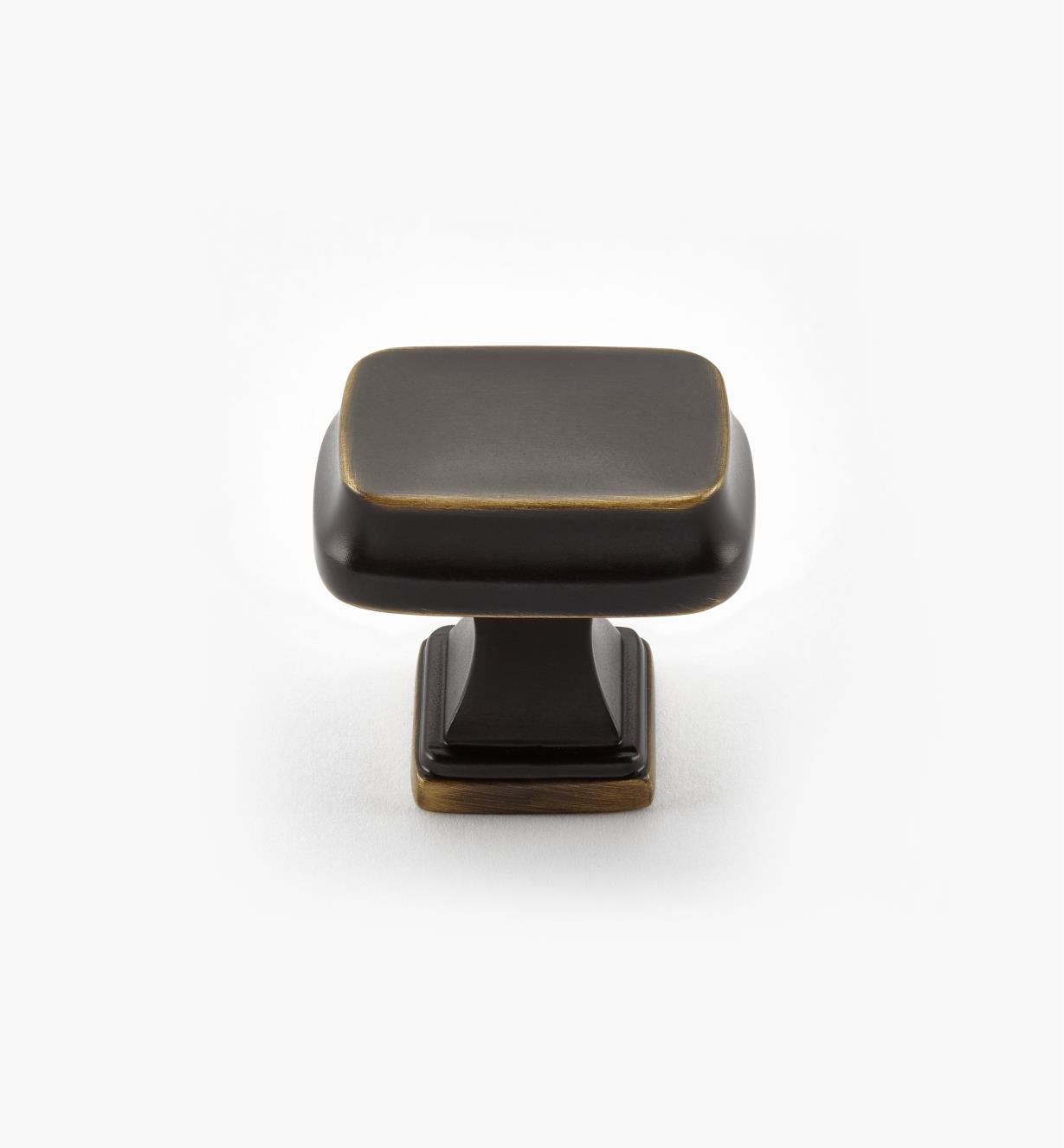02A2250 - Bouton rectangulaire Revitalize, 11/4po, bronze vénitien, l'unité