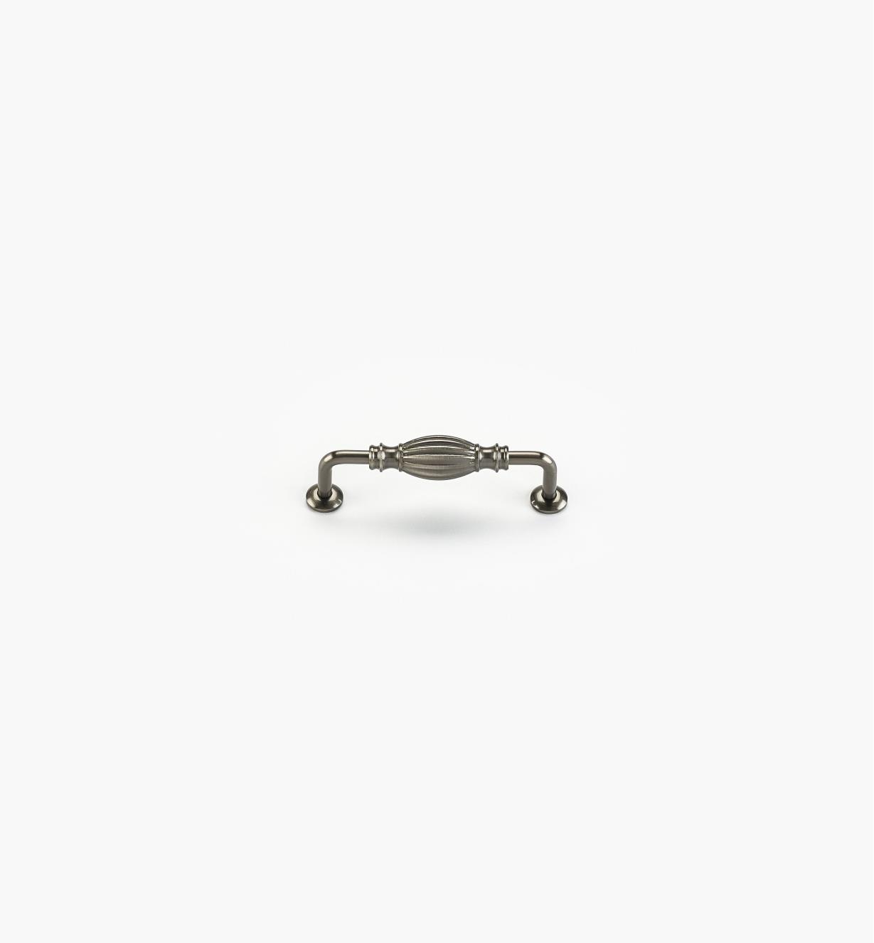 02W4435 - Poignée de 4po, série Olive, fini nickel antique
