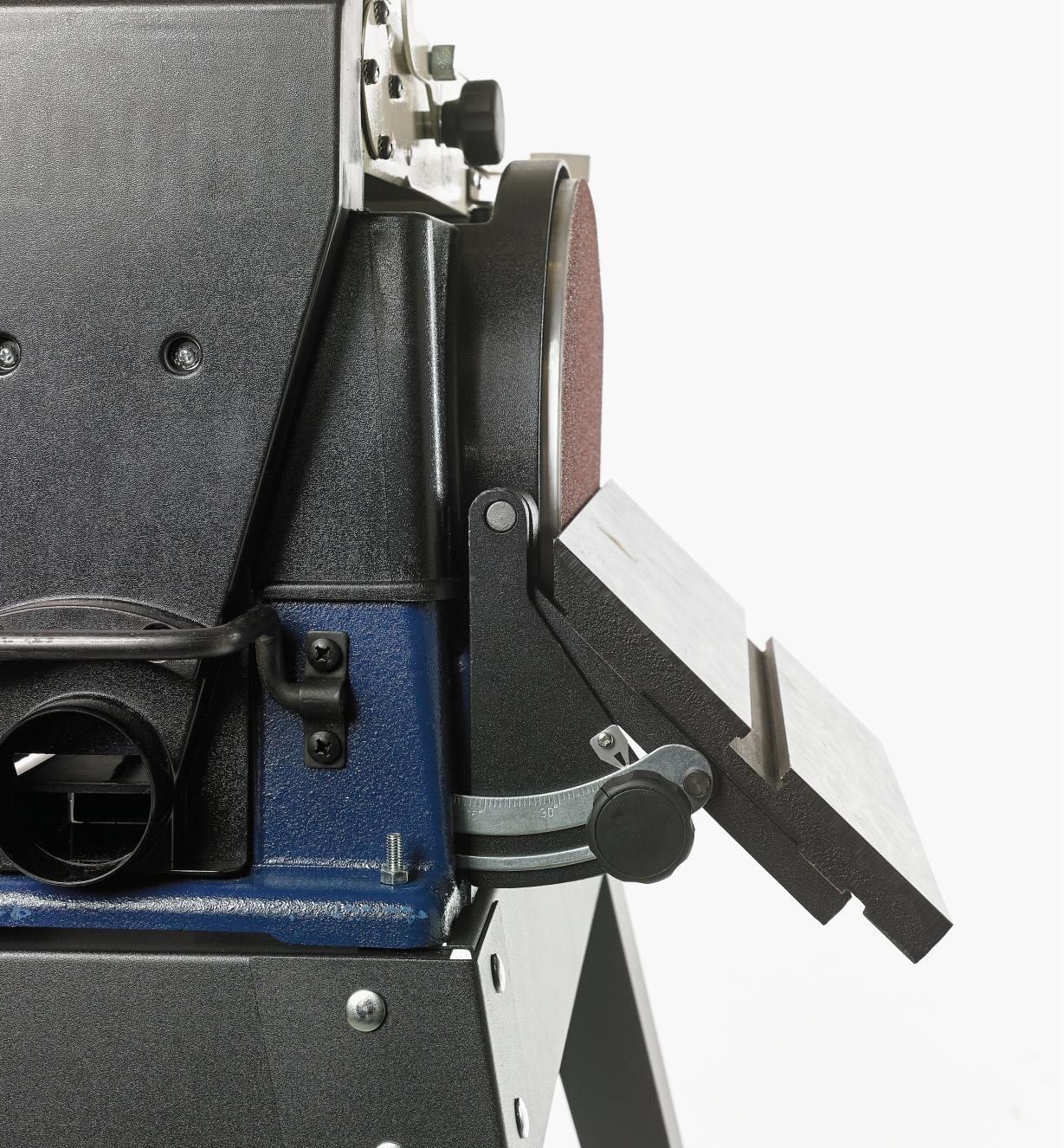 03J7430 - Ponceuse combinée à courroie et à disque Rikon