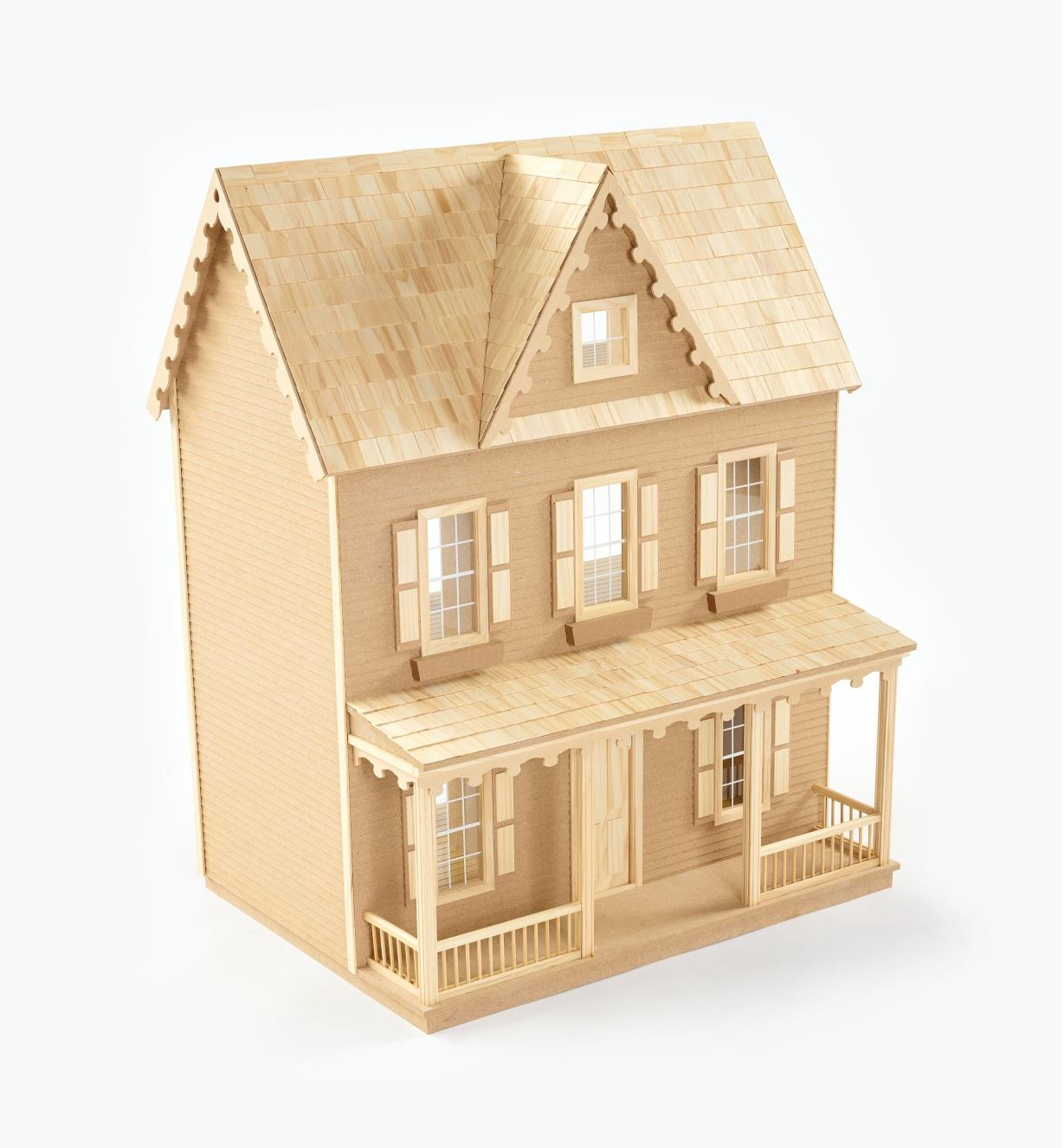 Assembled dollhouse