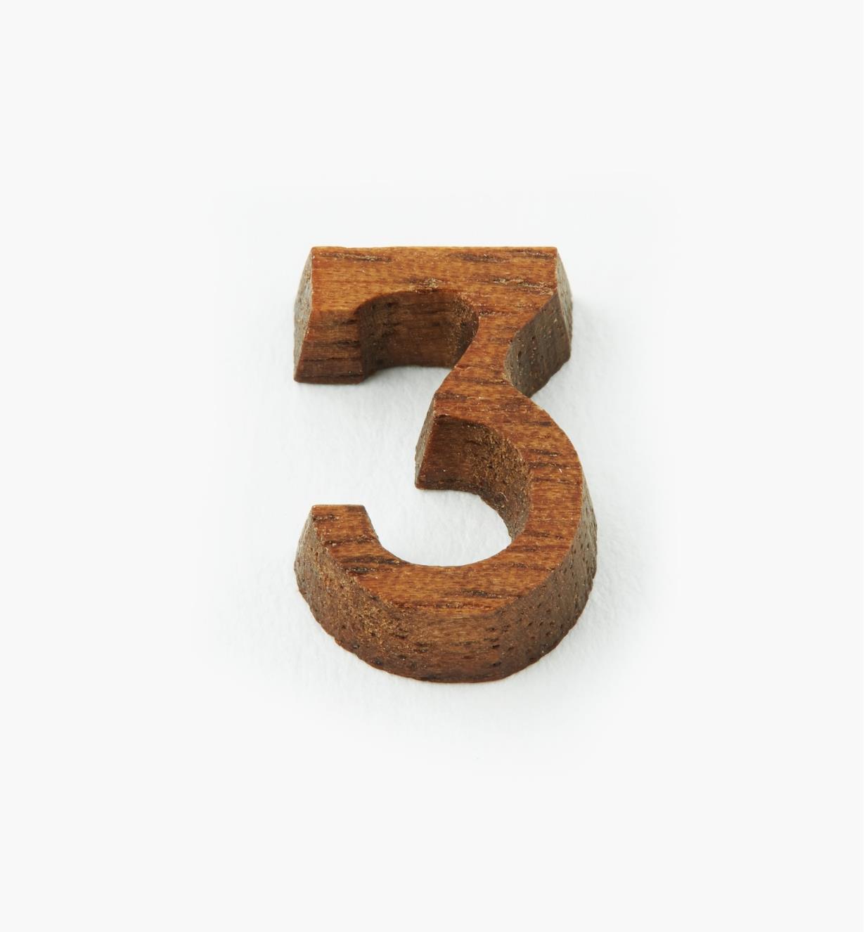"""41K053 - 1/2"""" Number-3"""