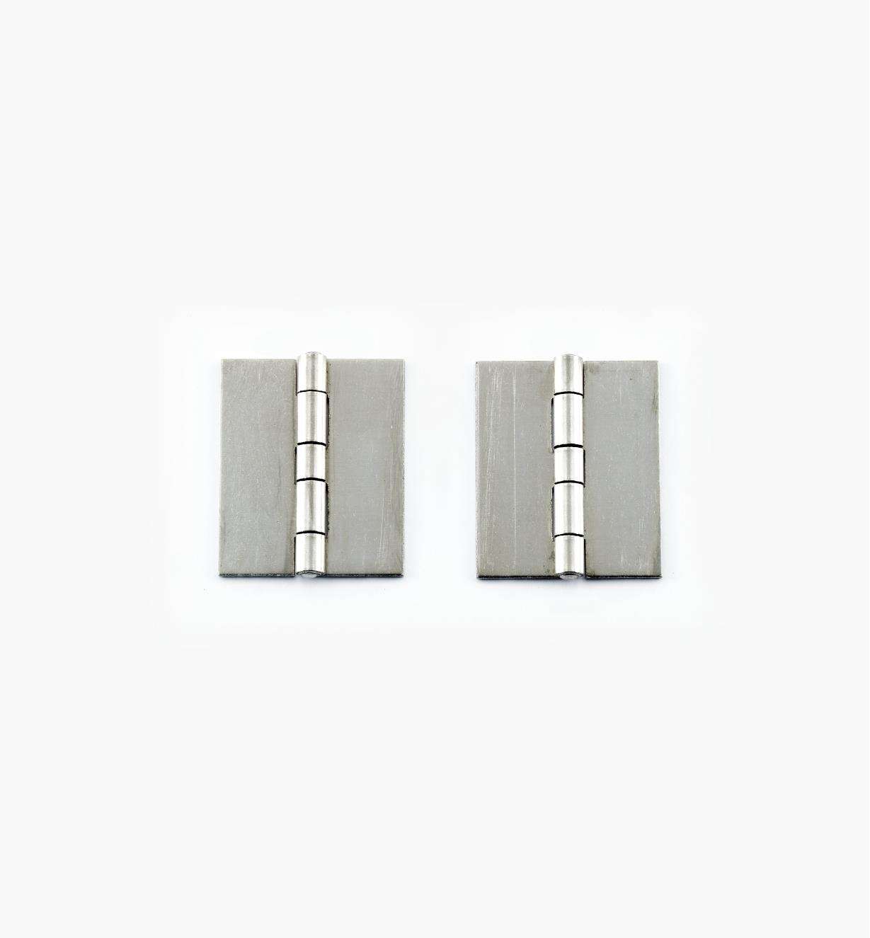 "A06508 - Fixed-Pin Welding Butt Hinges, 2"" x 1 5/8"", pr. (0.065"" thick)"
