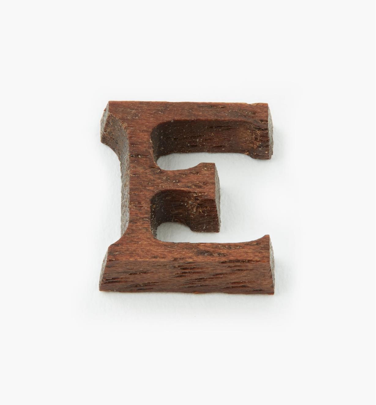 """41K05E - 1/2"""" Letter-E"""