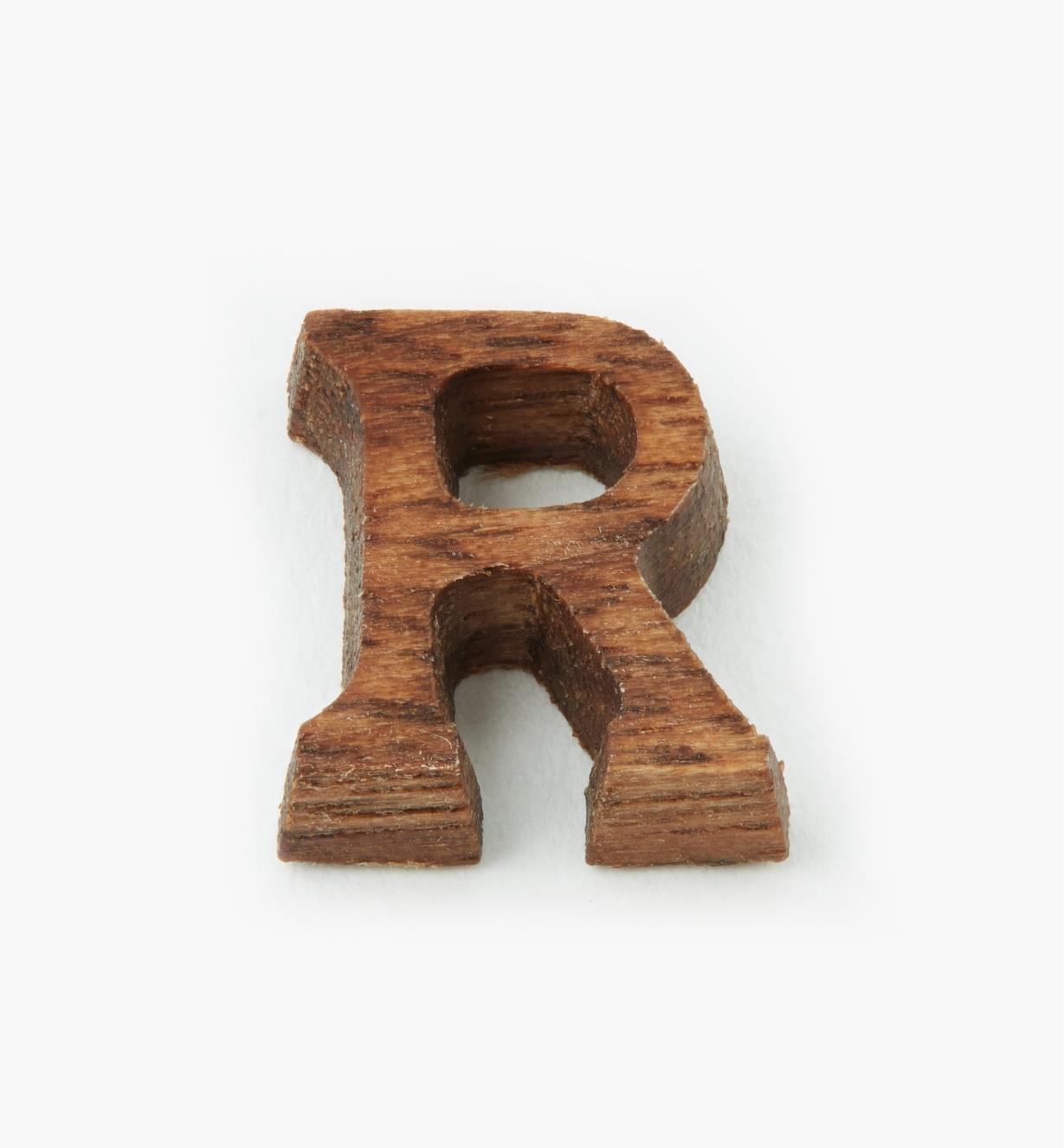 """41K05R - 1/2"""" Letter-R"""