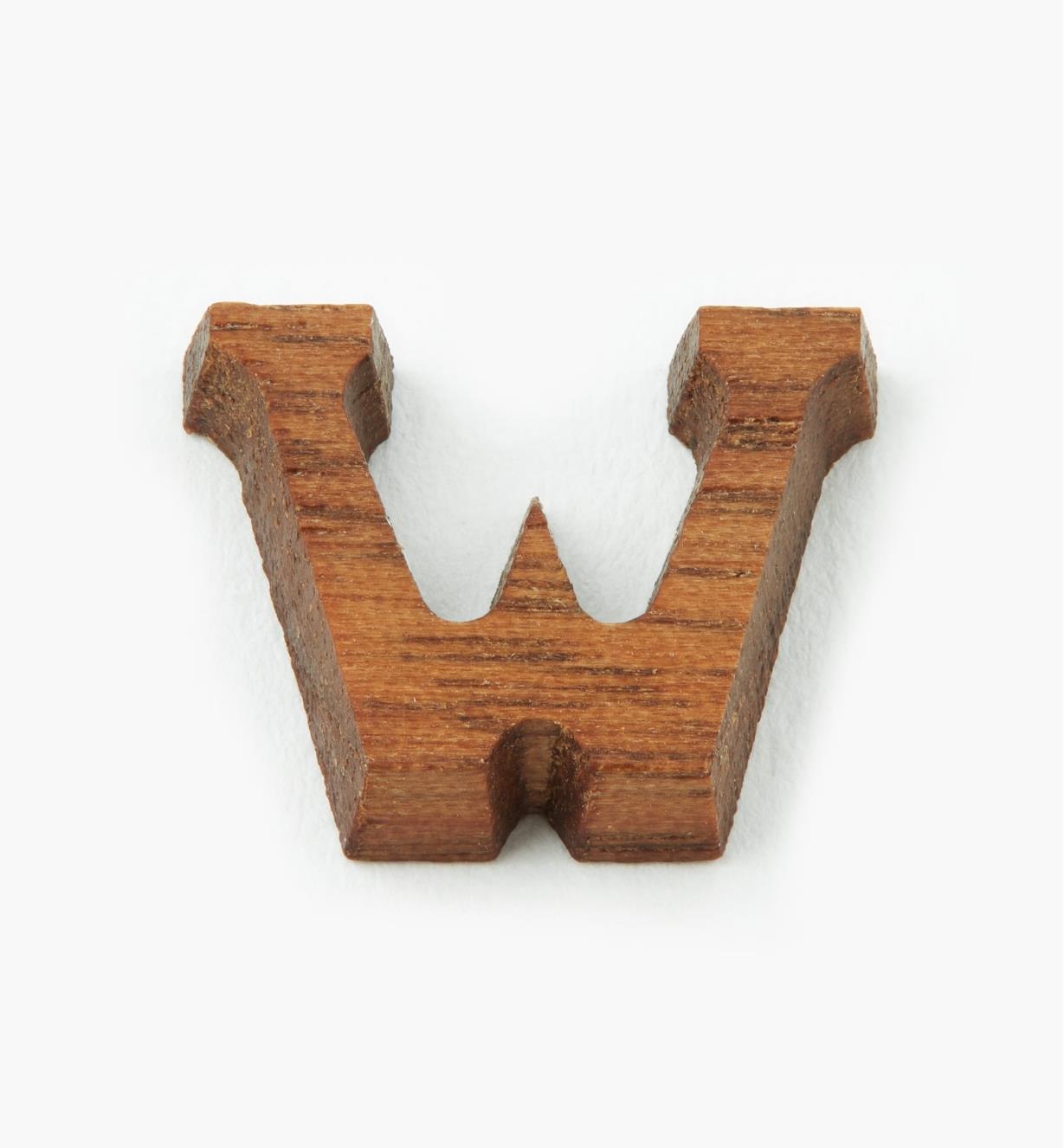 """41K05W - 1/2"""" Letter-W"""