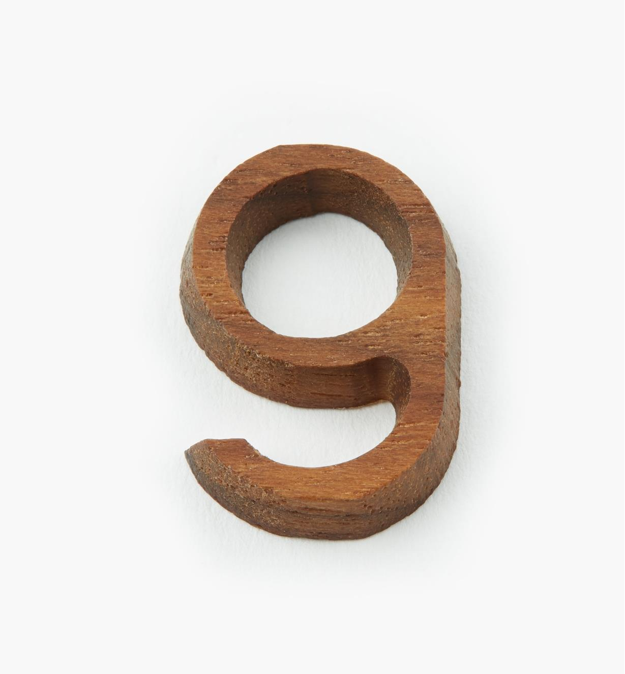 """41K079 - 1"""" Number-9"""