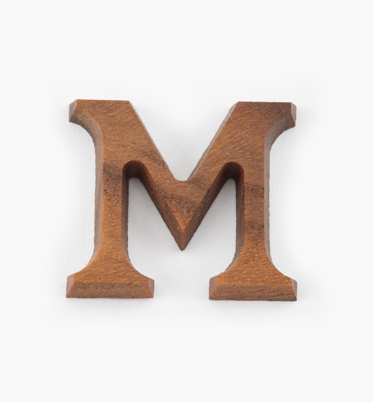"41K07M - 1"" Letter-M"