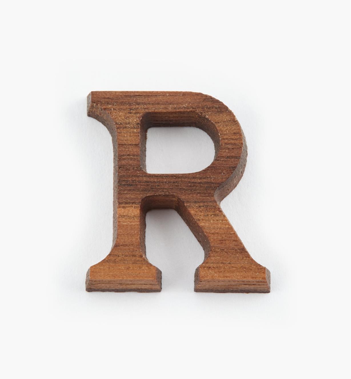"""41K07R - 1"""" Letter-R"""
